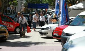 El «Mercat del Vehicle Usat-Valls Ocasió» es celebra,any rer any, al passeig de l'Estació.