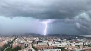 El Meteocat va cometre l'error anunciant les tempestes de diumenge a la tarda