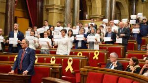 El Parlament ha mostrat el seu suport a Assange demanant la seva llibertat