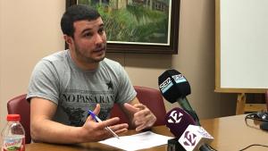 El portaveu de la CUP a la Diputació, Édgar Fernàndez, ha fet balanç del mandat