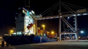 El primer vaixell entre Tarragona i Turquia ha arribat aquest cap de setmana