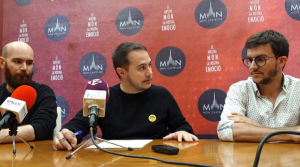 El regidor de Cultura Marc Ayala ha donat a conèixer l'equip que ha creat els audiovisuals del Museu Casteller