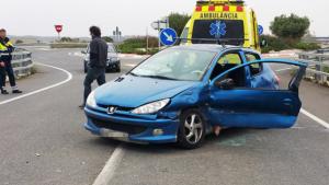 El vehicle implicat en l'accident de trànsit a Vilallonga del Camp