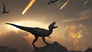 Els dinosaures es van extingir per la caiguda d'un meteorit fa milers d'anys