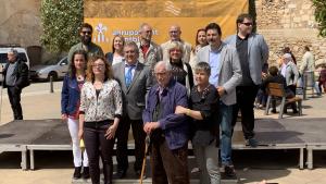Els membres de la candidatura d'Agrupament Catalanista de Montblanc de cara a les eleccions municipals 2019.