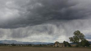 Els ruixats i les tempestes cauran a diversos punts aquest dimarts