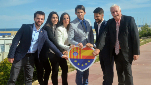 Els sis primers candidats de Ciutadans a Torredembarra.