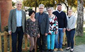 Els sis primers de la candidatura d'ERC a Torredembarra.