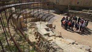 Els treballs al teatre romà de Tarragona es van dur a terme a principis de l'any 2017