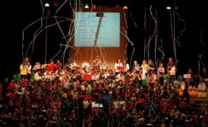 En aquesta ocasió, el cor estarà format per 225 alumnes i una orquestra de 30 alumnes
