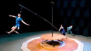 Espectacle de circ 'Flou Papagayo', que tindrà lloc diumenge 28 d'abril.
