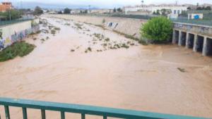 Estado del barranco de Benipila esta mañana de sábado
