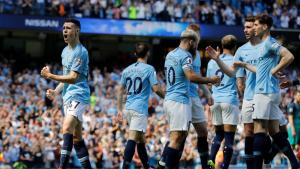 Foden celebra el gol marcat contra el Tottenham Hotspur