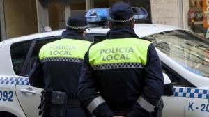 Imagen de archivo de la Policía Local de Vitoria.