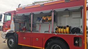 Imagen de archivo de un camión de bomberos de Córdoba.
