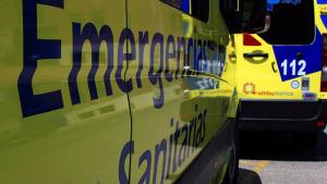 Imagen de archivo de una ambulancia de Castilla y León