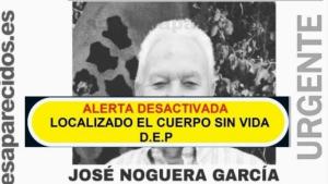 Imagen de José Noguera García, hallado muerto en Sangonera la Verde, Murcia