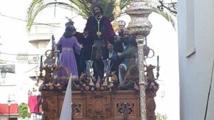 Imagen de la procesión de Córdoba 'La Borriquita'
