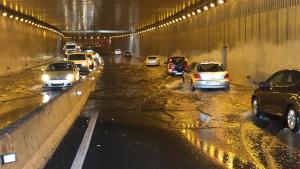 Imagen de las inundaciones en Julio Luengo