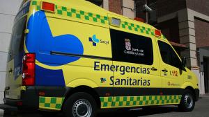 Imagen de una ambulancia de Emergencias Sanitarias - Sacyl de Castilla y León