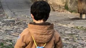 Imagen del pequeño Carlos, de 3 años
