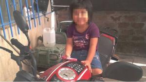 Imagen familiar de Naiara, la menor torturada en Huesca