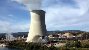 Imatge d'arxiu de la central nuclear d'Ascó II.