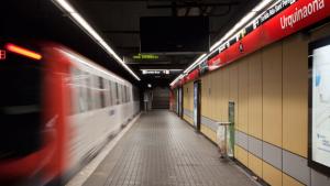 Imatge d'arxiu de l'estació L1 de Metro, Urquinaona, a Barcelona, on s'ha produït la baralla.