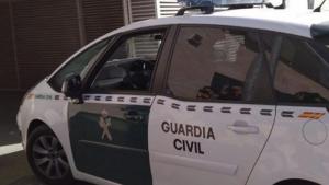 Imatge d'arxiu d'un cotxe de la guàrdia civil