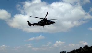 Imatge d'arxiu d'un helicòpter de rescat