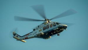 Imatge d'arxiu d'un helicòpter de Salvament Marítim.