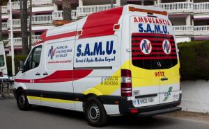 Imatge d'arxiu d'un Servei d'Atenció Mèdica Urgent (SAMU)
