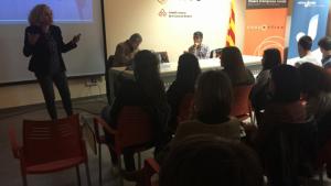 Imatge d'arxiu d'una xerrada per a joves organitzada pel Consell Comarcal de la Conca de Barberà.