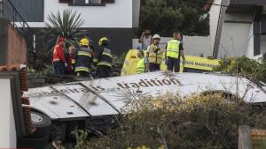 Imatge de l'accident a Madeira