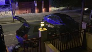 Imatge de l'accident, a Segur de Calafell