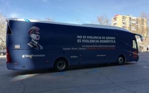 Imatge de l'autobús de 'HazteOír'