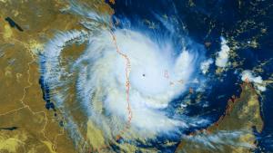 Imatge satèl·lit del cicló Kenneth