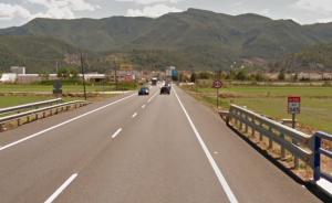 Imattge de la carretera N-332 a Favara