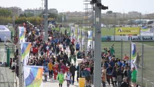 Important afluència d'espectadors a les instal·lacions del Complex Esportiu Futbol Salou