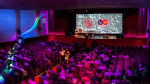 Inauguració del FIC-CAT al Teatre del Casino Municipal de Roda de Berà