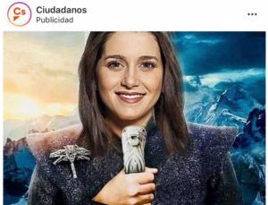 Inés Arrimas com a Khaleesi