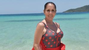 Isabel posando en Honduras