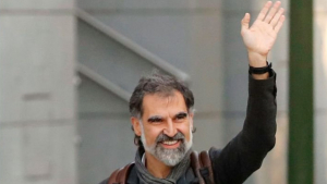 Jordi Cuixart s'ha casat a la presó de Lledoners amb Txell Bonet
