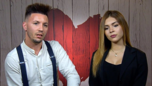 Jorge y Karol en 'First Dates'