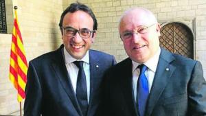 Josep Rull i Lluís Puig