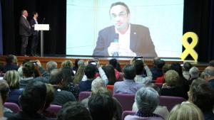 Josep Rull (JxCat) ha fet la seva primera intervenció des de Soto del Real a Reus.