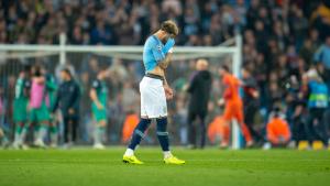Kyle Walker, decebut després de l'eliminació del Manchester City de la Champions League.