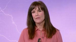 La dona del temps de TVE Mònica López