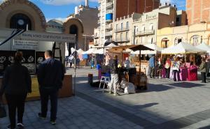 La Fira de Tardor de Tarragona s'ubica enguany a la plaça Corsini amb 25 paradistes menys.