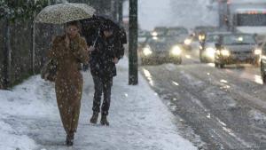 La nieve volverá a caer en cotas bajas del norte esta semana